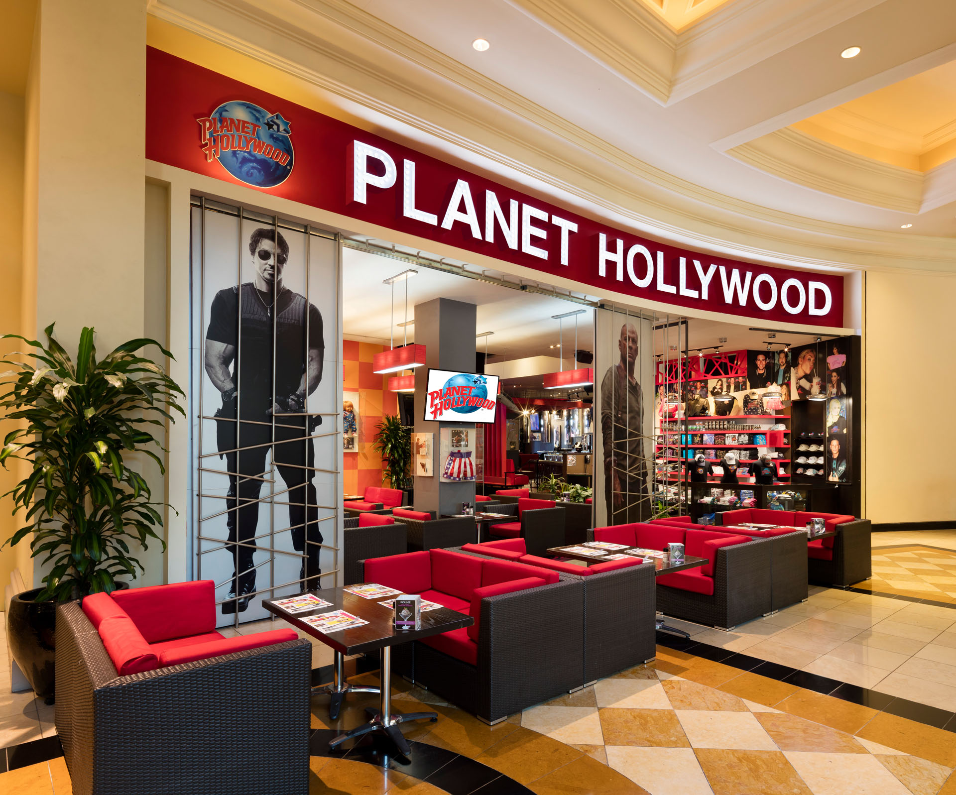Planet Hollywood Wedding