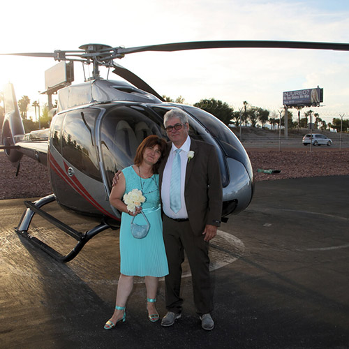 weddings helicopter - Spring Valley