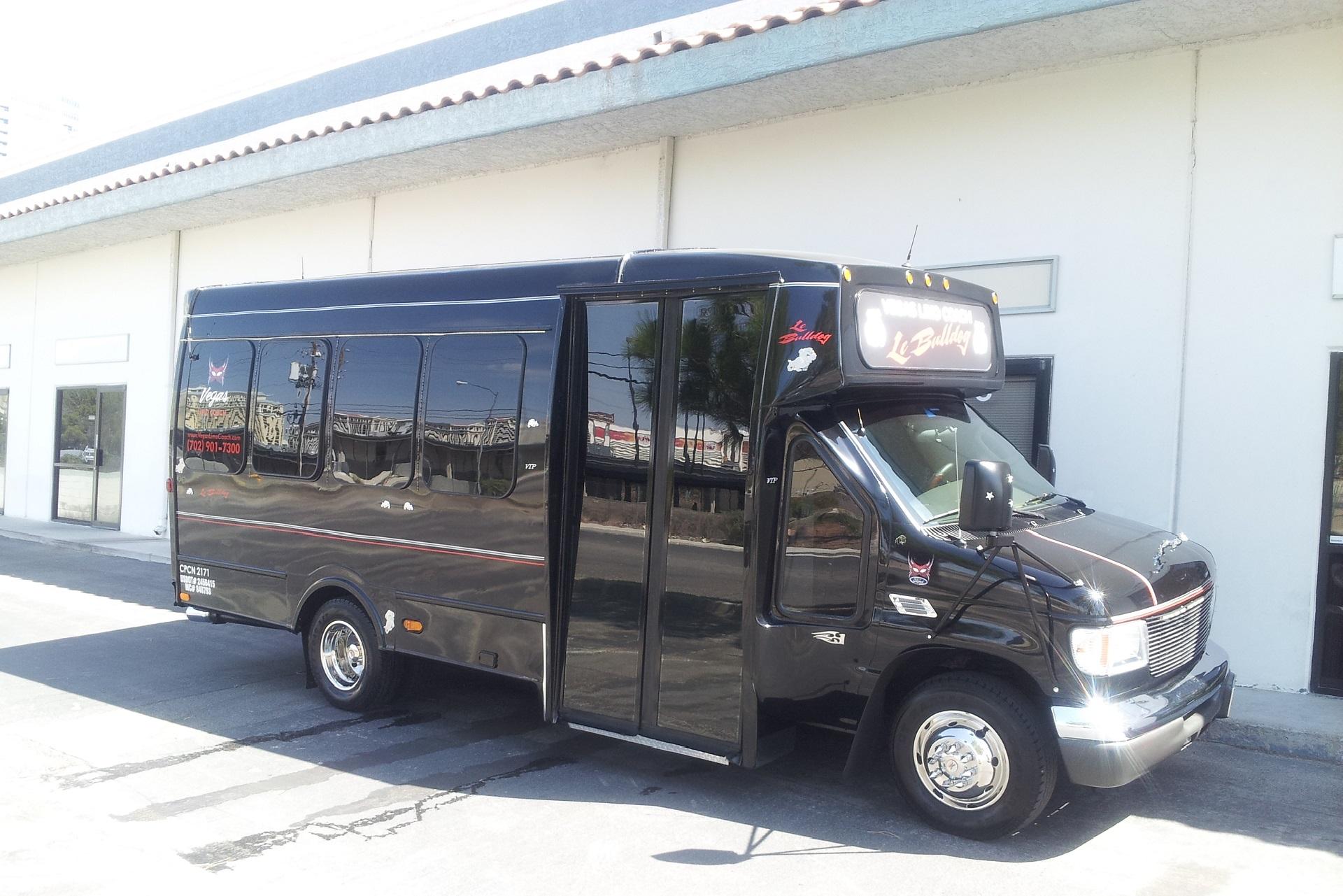 Bulldog Party Bus Photo tour