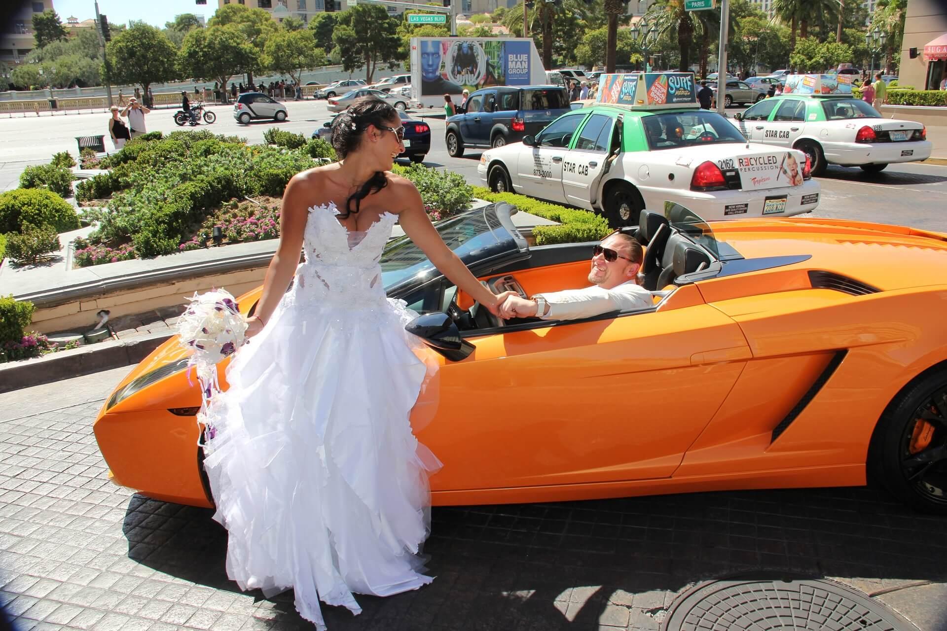 Celebrity Cars Las Vegas Strip Photo Tour - LV Wedding Connection