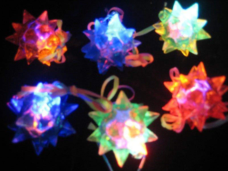 Crystal Star Necklaces