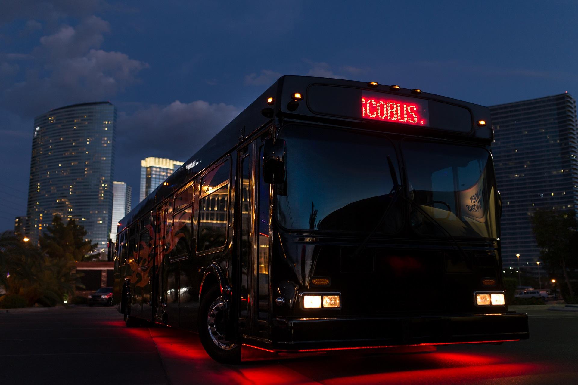 Disco Bus Party Photo Tour