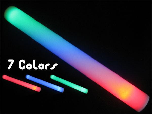 Flashing Multi-color Cheer Sticks