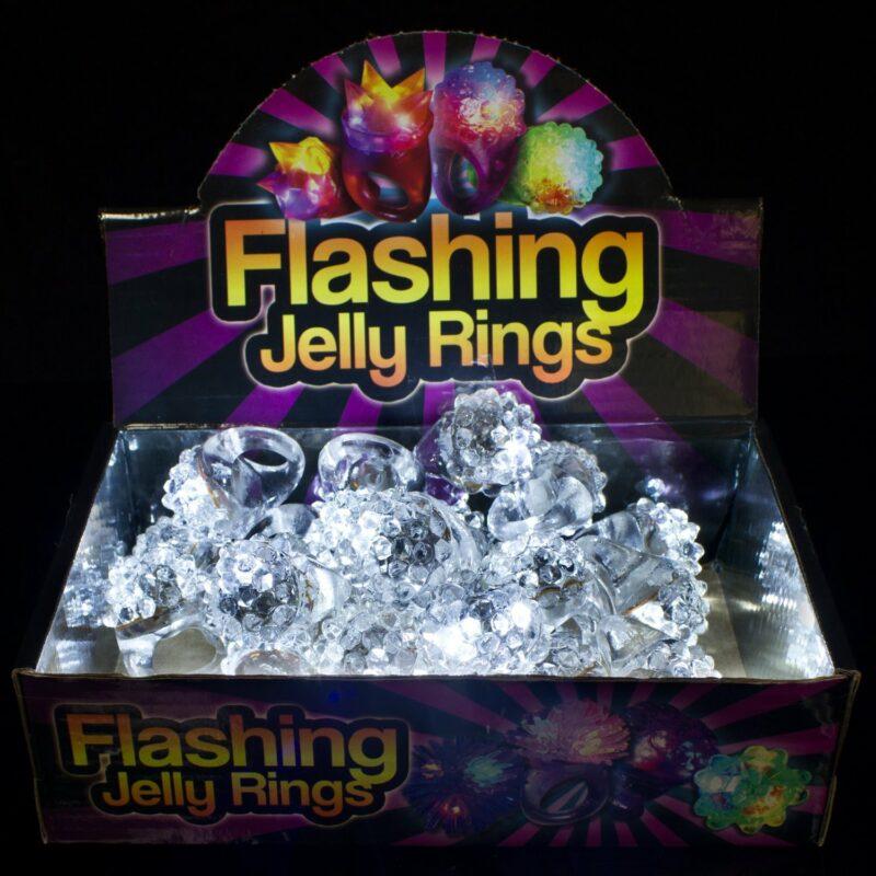 Flashing Jelly Rings