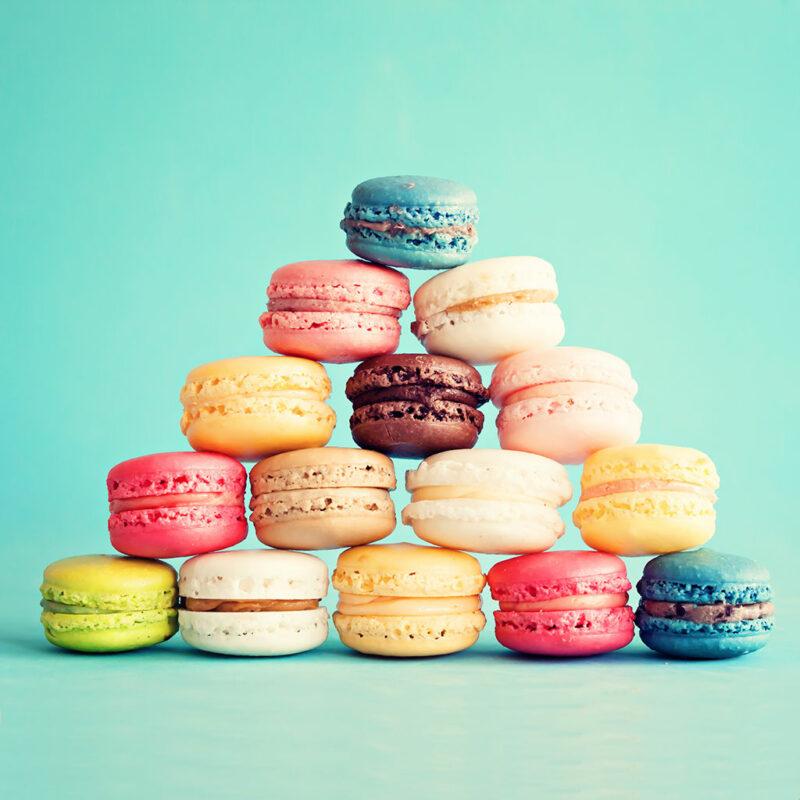 Macaroons (various colors)