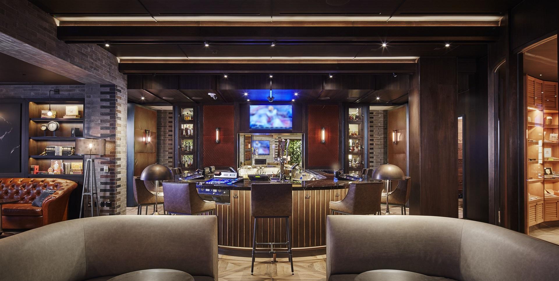 Cigar Bar Photo Tour Lv Wedding Connection