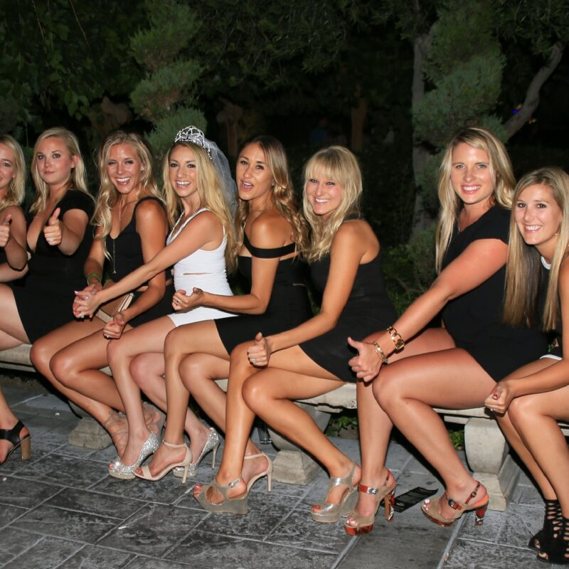Team Bride Bachelorette Photo Tour