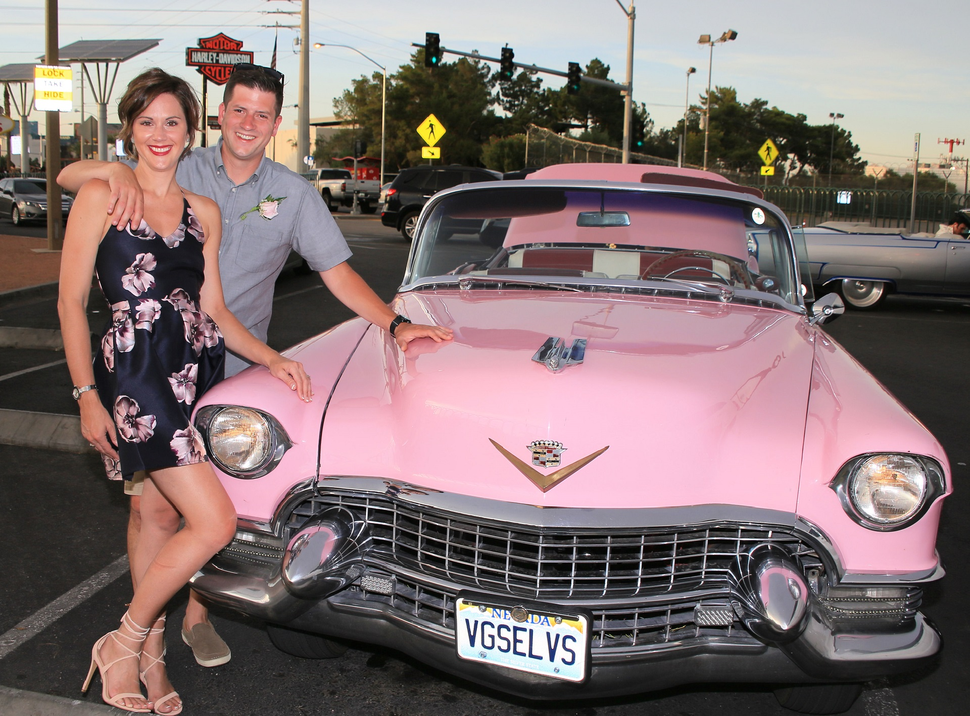 Pink Cadillac and Elvis Photo Tour
