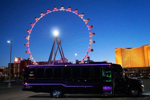 Purple Rain Party Bus Photo Tour