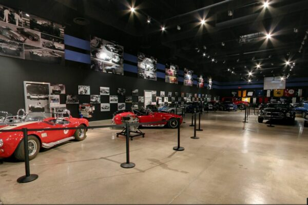 Shelby Museum and Las Vegas Sign