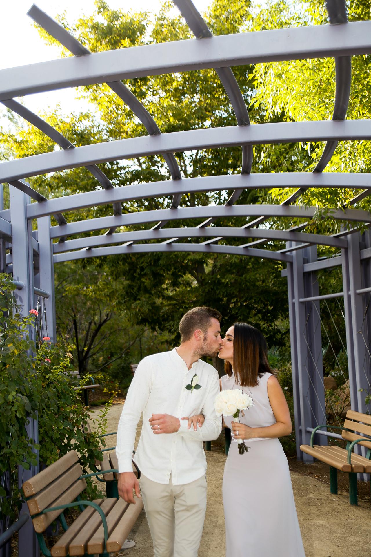 Springs Preserve Garden Arbor Wedding