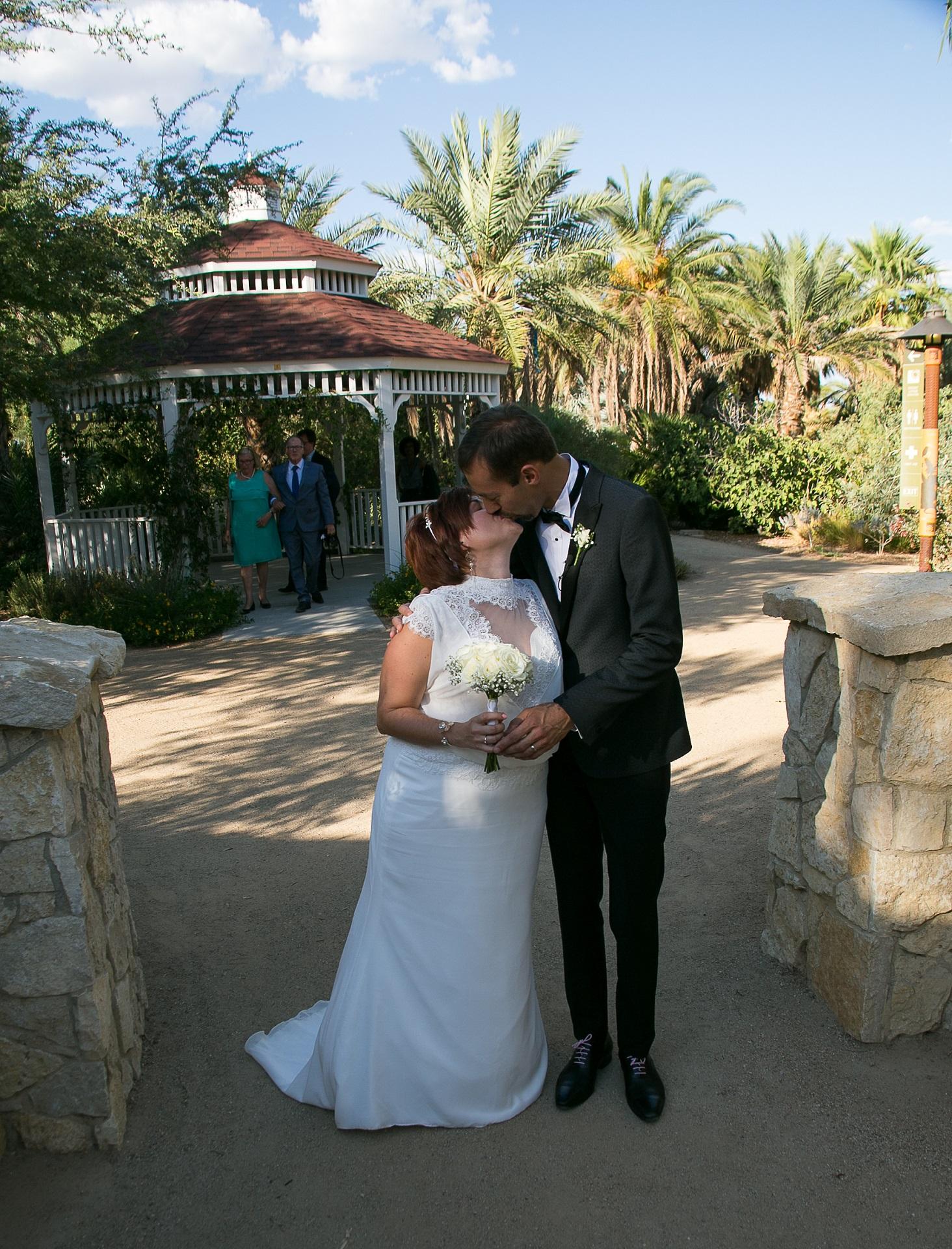 Springs Preserve Gazebo Wedding