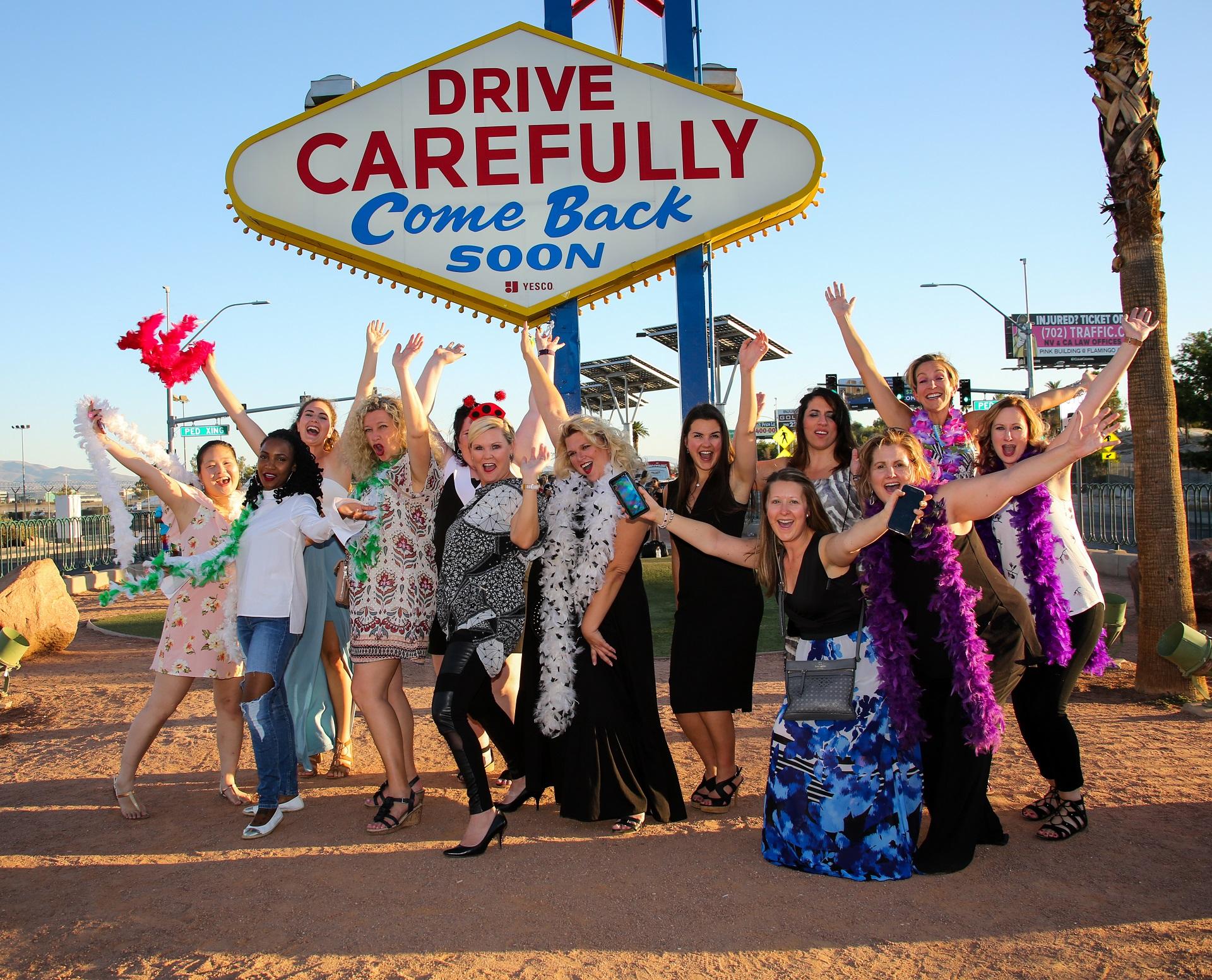 2017 Canadian Wedding Planners Las Vegas Wedding Familiarization Trip